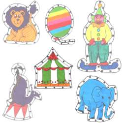 Circus EZ Sew Sewing Cards