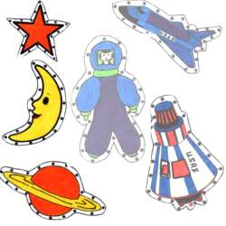 Space EZ Sew Sewing Cards