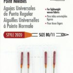 Singer Red Band Needles Size 80/11