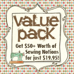 Value Pack of Sewing Notions