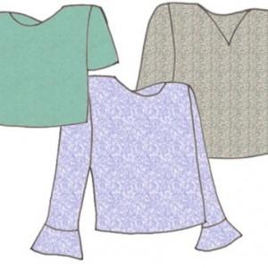 Modern T-Shirts, Pattern 5102