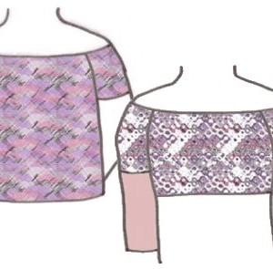 Off The Shoulder Tops, Pattern 5106