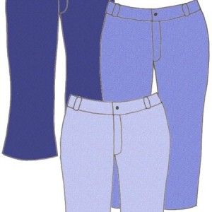 Denim jeans, pattern 5302