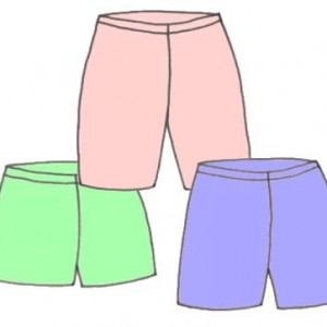 Elastic waist shorts, pattern 5304