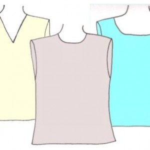 Boys tank tops, pattern 6102