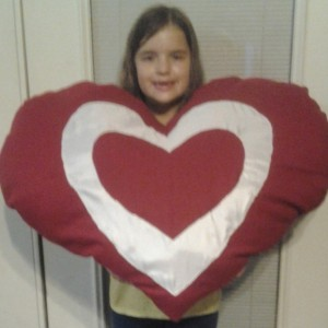 Mega Heart Pillow