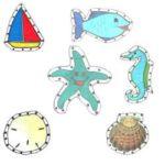 Sea Scene EZ Sew Sewing Cards
