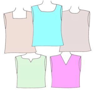 Tank Tops and Crop Tops, Pattern 5101