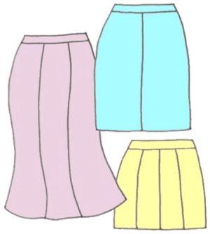 Gore Skirts, pattern 5202