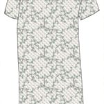 Nightgown, pattern 5501