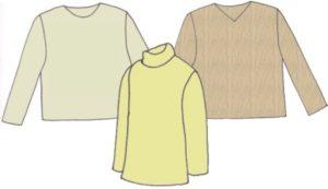Boys pullover, pattern 6101