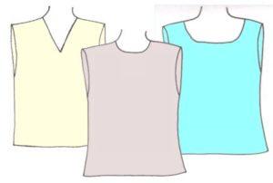 Boys tank tops, pattern 6102