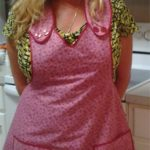 Vintage Wrap Collar Apron