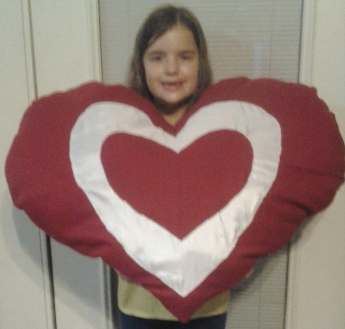 Mega Heart Pillow